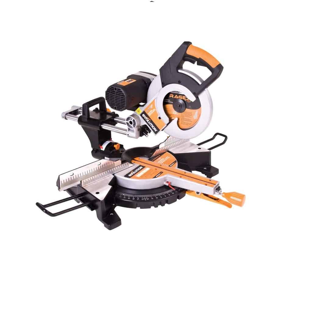Best Metal Cutting Saws Evolution Power Tools RAGE 3-DB 10-Inch TCT Multipurpose Cutting Double Bevel