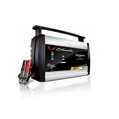 Schumacher SC1358 6 12V Fully Automatic Battery Charger and 10A Maintainer