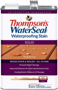 THOMPSONS WATERSEAL TH.043851-16 Solid Waterproofing Stain