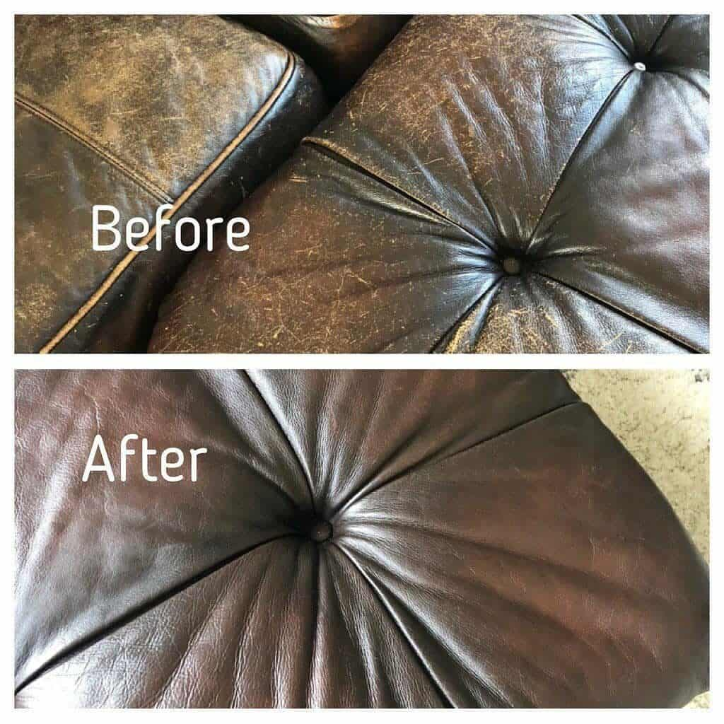Sofa before after FORTIVO