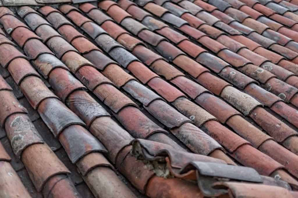 old orange roof