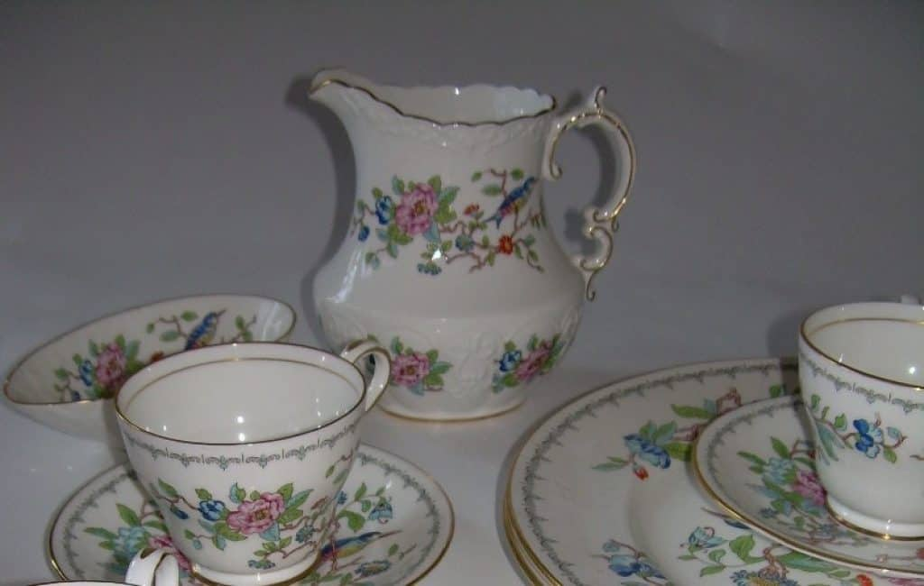 ceramic plates and cups