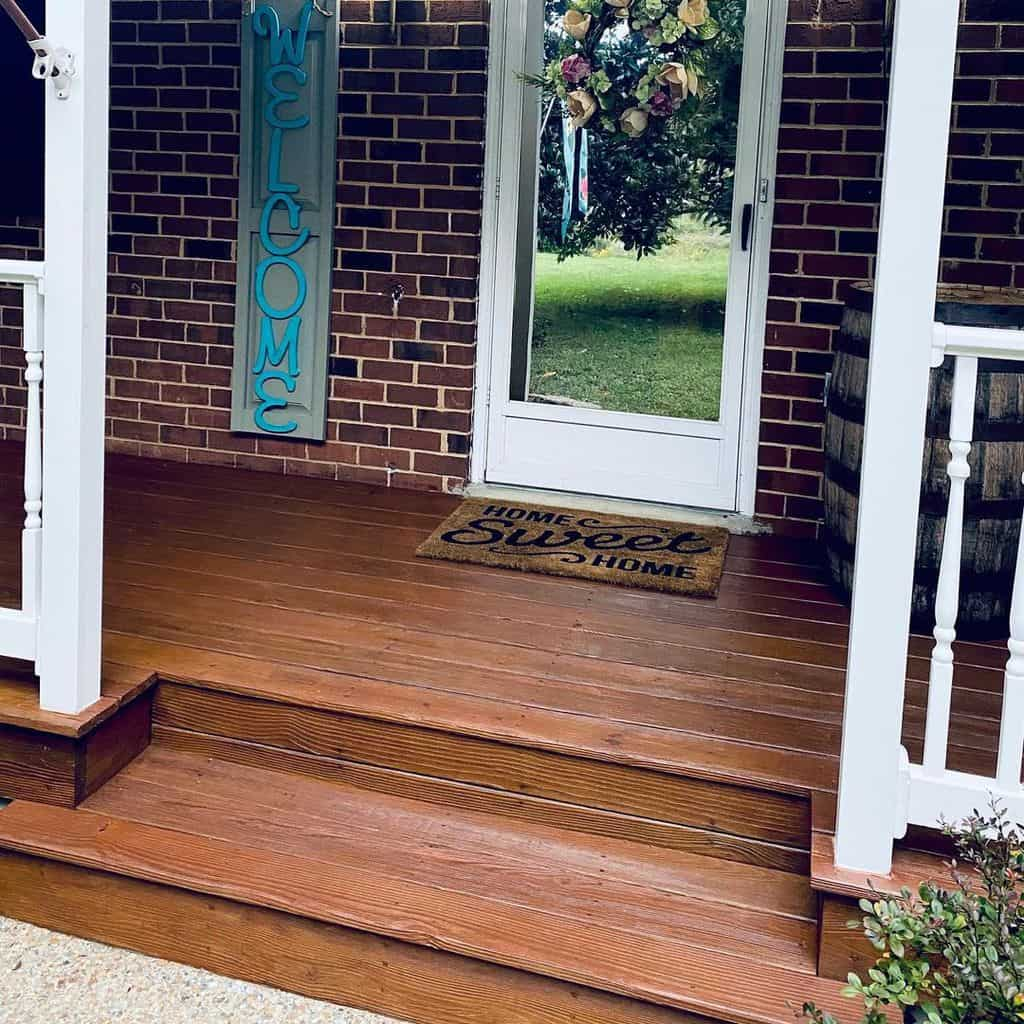 Steps after painting with paint Thompson Waterseal