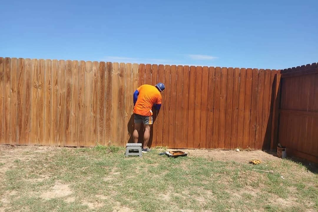 Step 4: Seal the fence